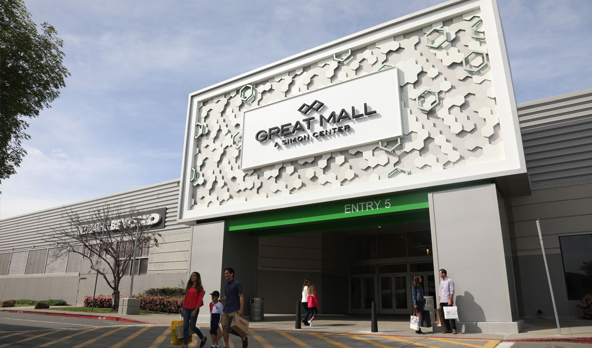 Great Mall is located in Milpitas, California and offers stores - Scroll down for Great Mall outlet shopping information: store list, locations, outlet mall hours, contact and address. Address and locations: Great Mall Dr, Milpitas, California - CA /4(3).
